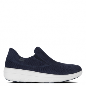 FitFlop Loaff Navy Cord Sporty Slip On Sneaker