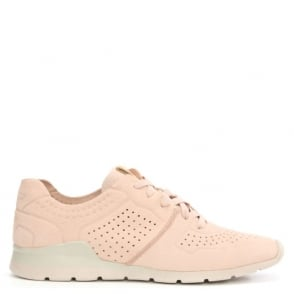 UGG Tye Quartz Leather Perforated Trainer