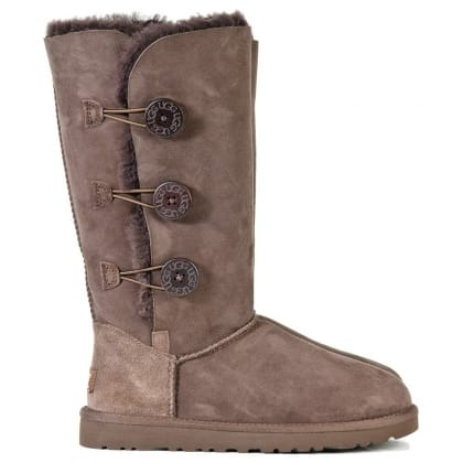 UGG® Australia Authorised Retailer Bailey Triplet Chocolate Women's Flat Boot