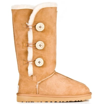 UGG® Australia Authorised Retailer Bailey Triplet Chestnut  Suede Flat Boot
