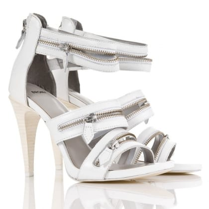 Bronx 83594 Womens Strappy High Heeled Sandal