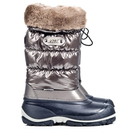 Daniel Pewter Noan Womens Flat Snow Boot
