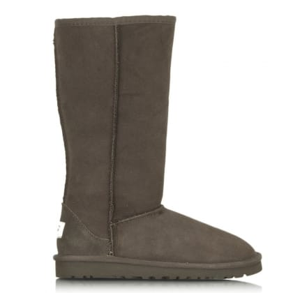 UGG Kids Classic Tall Brown Sheepskin Boot