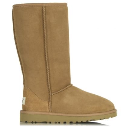 UGG® Australia Authorised Retailer Kids Classic Chestnut Tall Sheepskin Boot