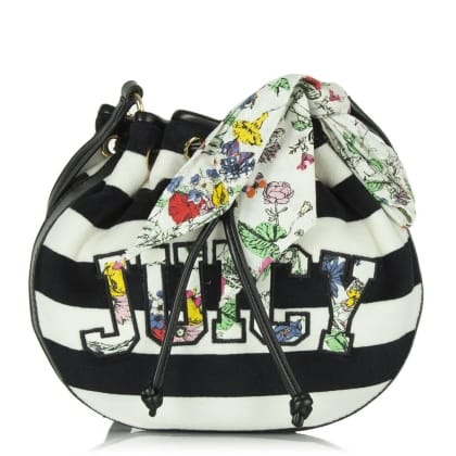 Juicy Couture Floral Oasis Drawstring Multicoloured Crossbody Bag