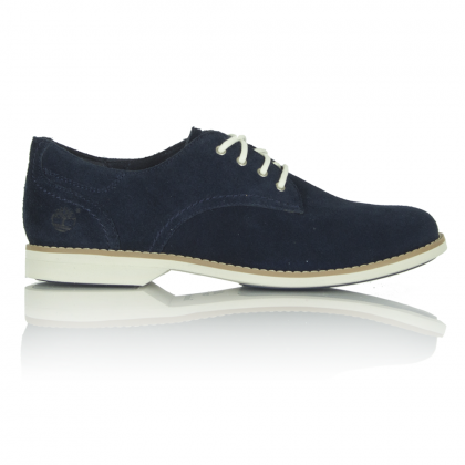 Timberland Millway Oxford Navy Suede Leather Lace Up Shoe