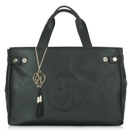 Armani Jeans  Bannatyne Black Shoulder Bag