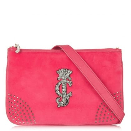 Juicy Couture Glamour Pink Crossbody Bag