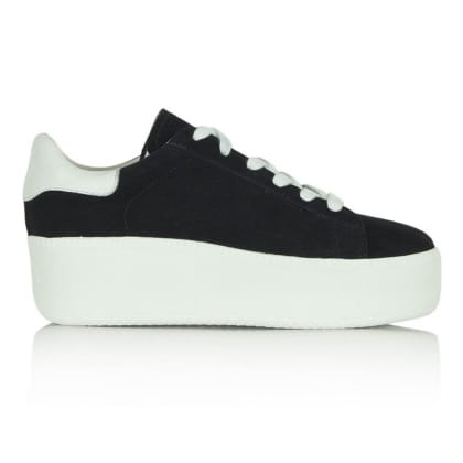 Ash Navy Fabric Cult Trainer