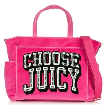 Juicy Couture Choose Juicy Pink Baby Bag