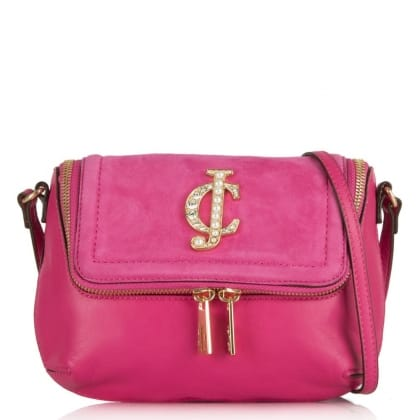 Juicy Couture Glam Couture Cross-body Pink Bag