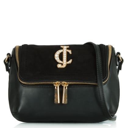 Juicy Couture Glam Couture Black Cross-body Bag