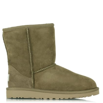 UGG Kids Classic Dry Leaf Sheepskin Boot