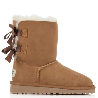 UGG® Australia Authorised Retailer Kids Bailey Bow Tan Boot