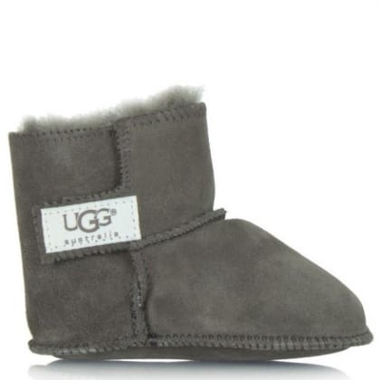 UGG Erin Grey Soft Suede Baby Boot