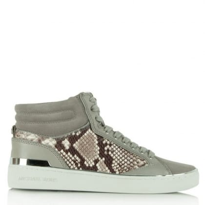 Michael Kors  Kyle Grey/Reptile High Top Trainer