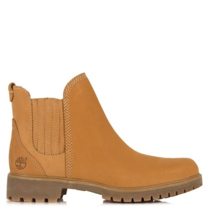 Timberland Lyonsdale Beige Suede Ankle Boots