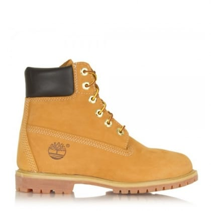 "Timberland Women's 6"" Wheat  Premium Waterproof Boot"