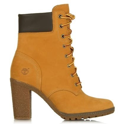 Timberland Wheat Glancy 6 Inch Women's Ankle Boot