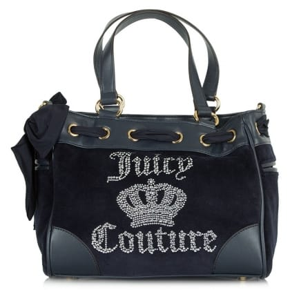 Juicy Couture Juicy Crown Mini Daydreamer Navy Tote