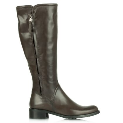 Lamica Acimal 48 Grey Leather Low Riding Boot