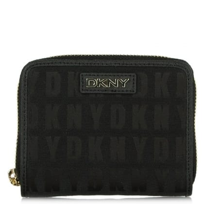 DKNY Kandy 104 Black Fabric Small Carry All Purse