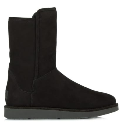 UGG® Australia Authorised Retailer Luxe Abree Nero Suede Short Boot