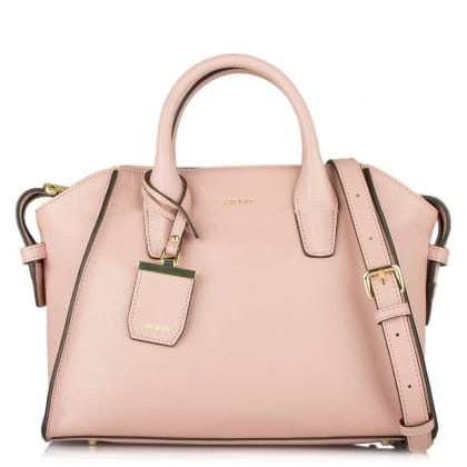 DKNY Pixie Rose Leather Medium Tote Bag