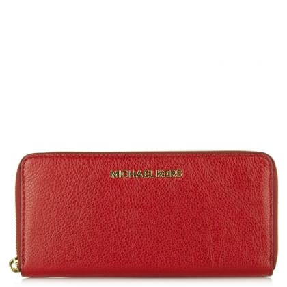 Michael Kors Bedford Continental Cherry Leather Women's Wallet