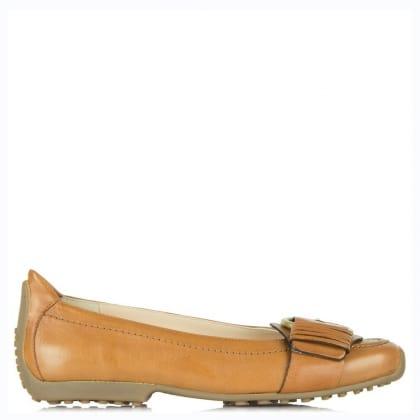 Kennel & Schmenger Arkle Tan Leather Buckled Pump