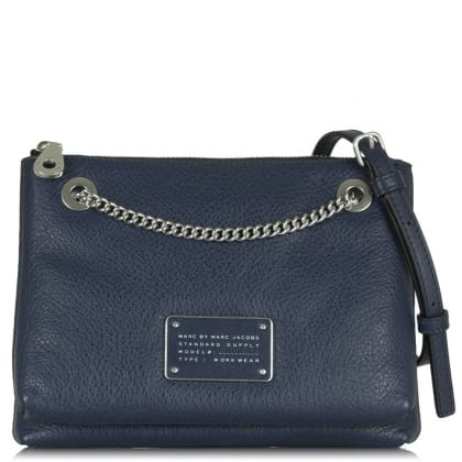 Marc By Marc Jacobs Too Hot To Handle Double Decker Amalfi Coast Leather Cross-Body Bag