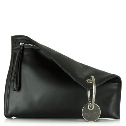 Marc By Marc Jacobs Prism Black Leather Large Clutch Bag
