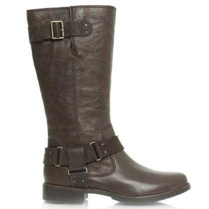 UGG® Australia Authorised Retailer Damien Lodge Leather Knee High Biker Boot