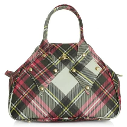 Vivienne Westwood Derby New Exhibition Canvas Coated Bowler Bag