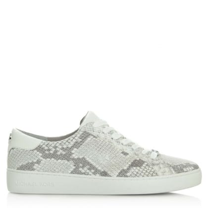 Michael Kors Irving Lace Up Natural Reptile Trainer