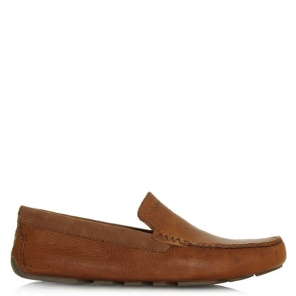 UGG Henrick Chestnut Leather Driving Shoe