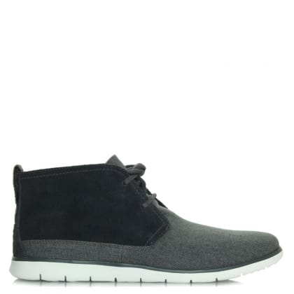 UGG Australia Freamon Navy Suede Lace Up Chukka Boot