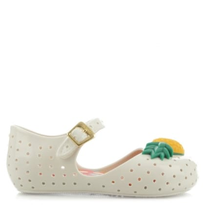 Melissa Kids Mini Furadinha Pineapple Mary Jane