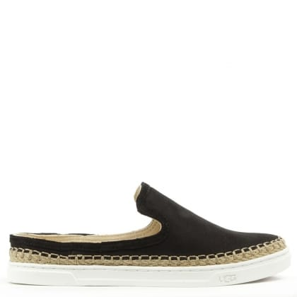 UGG Caleel Black Backless Trainer