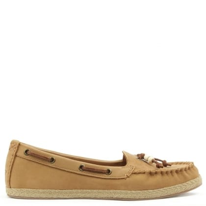 UGG Suzette Tan Moccasin Shoe