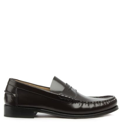 Daniel Aiton Brown Leather Penny Loafer