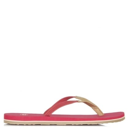 UGG Australia Magnolia Tropical Sunset Leather Flip Flop Sandal