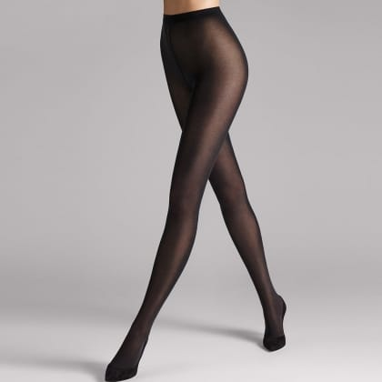 Wolford Velvet De Luxe 50 Black Tight