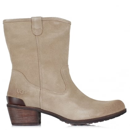 UGG Australia Briar Pine Suede Brushed Western Boot