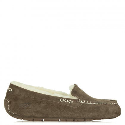 UGG Ansley Chocolate Women's Moccasin Slipper