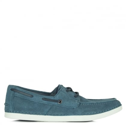 UGG Murray Blue Suede Men's Boat Shoe
