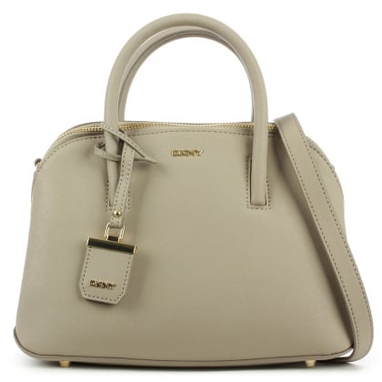 DKNY Bryant Zip Small Soft Desert Leather Satchel Bag