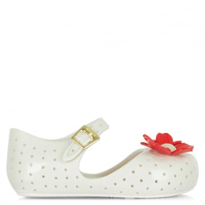 Melissa White Kids Mini Isabela Shoe