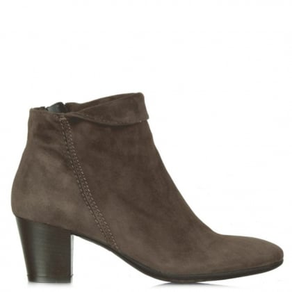 Lamica Acimal 53 Taupe Suede Ankle Boot