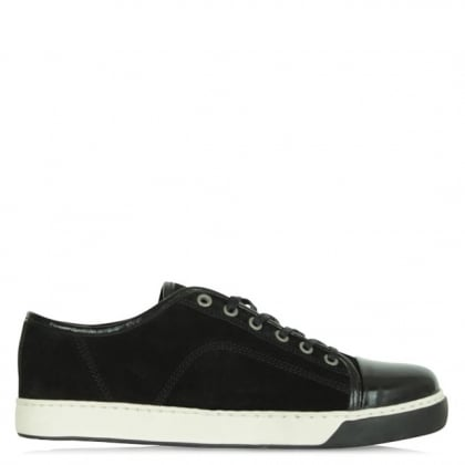 Daniel Black Suede Leather Men's Janze Trainer